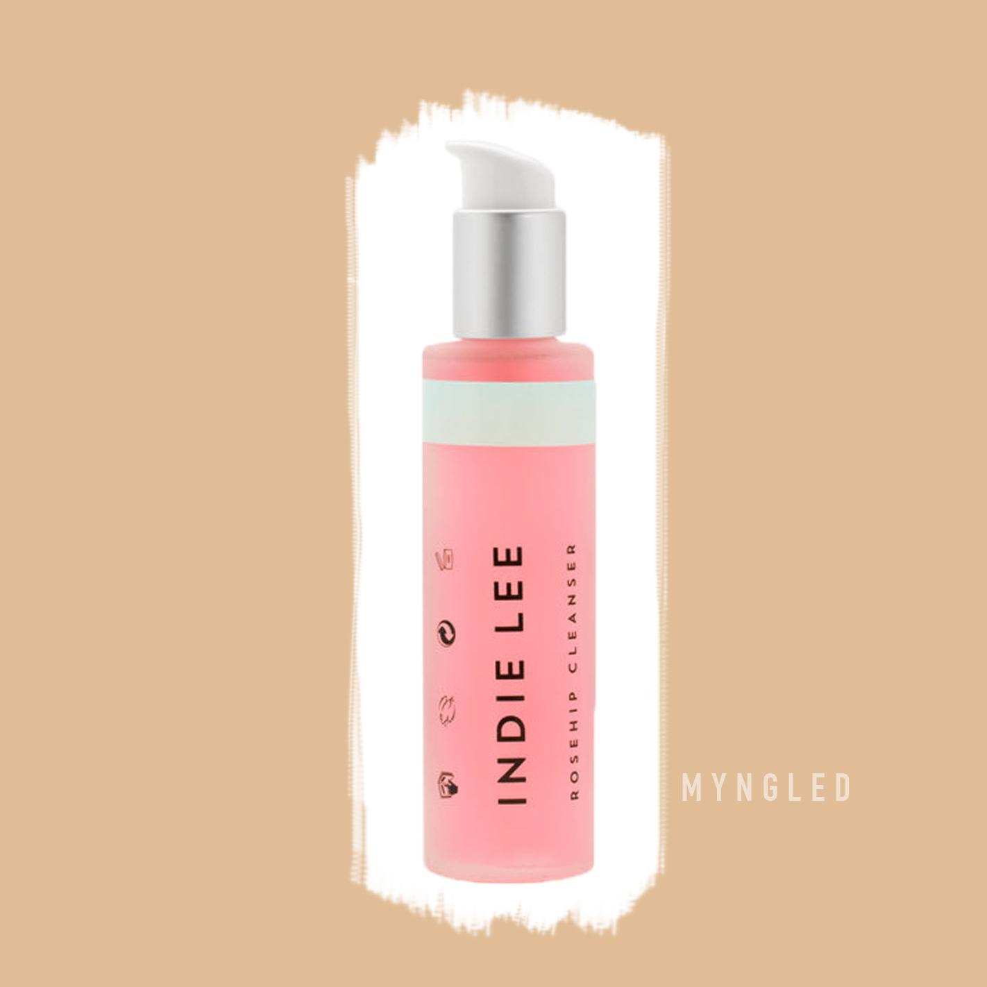 Gel lavant visage Indie Lee. Revue et avis sur Myngled